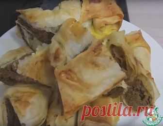 Лаваш с печенью, запеченный в духовке - кулинарный рецепт