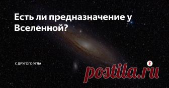 Есть ли предназначение у Вселенной? На этот вопрос нам ответит  американский астрофизик, доктор философии по физике, писатель и популяризатор науки Нил Деграсс Тайсон.