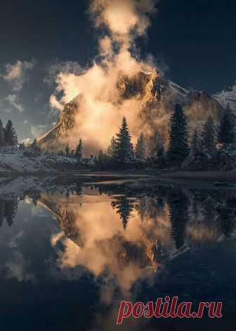 Enantiodromija   Dolomites by maxrivephotography