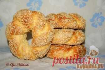 Рецепт: Симиты (турецкие бублики)