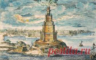 АЛЕКСАНДРИЙСКИЙ МАЯК. Продолжаем серию рассказов LifeGlobe о чудесах античности. На очереди Александрийский маяк, также известный как Фарос Александрии — башня, возведенная