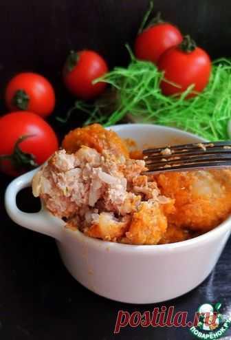 Тефтели в кремово-овощной подливе - кулинарный рецепт