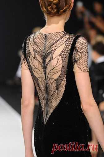 Платья с открытой спиной. Красивые идеи (Мода и стиль) — Журнал Вдохновение Рукодельницы
