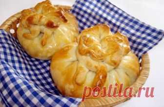 Яблочные узелки — Кулинарная книга - рецепты с фото