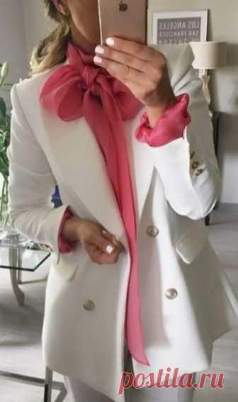 Трендовые образы с белым пиджаком. — Модно / Nemodno