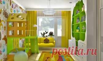 Как Вам идея оформления комнат?