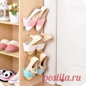 Удобные и простые способы хранения обуви, не занимающие много места — Сделай сам, идеи для творчества - DIY Ideas