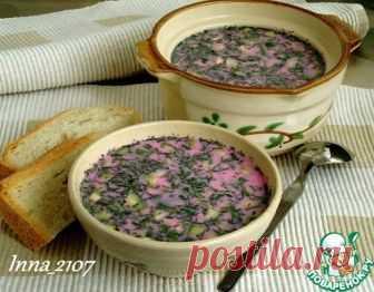 Свекольник на кефире – кулинарный рецепт