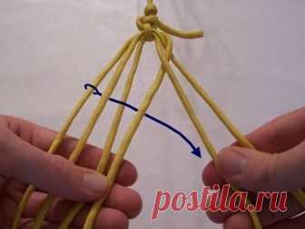 Два метода плетения