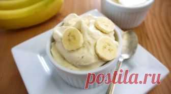 Банановое мороженое «Пальчики оближешь»