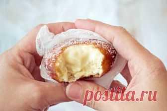 Bombas de crema pastelera, explosión de dulzura