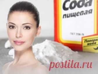 Польза соды как косметического средства