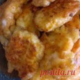 Курица в сырном кляре Кулинарный рецепт