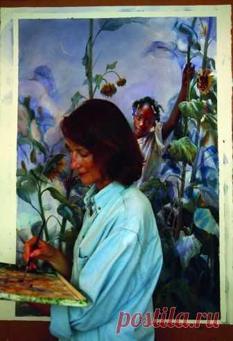 Акварели Mary Whyte  (Мэри Уайт) Американская художница Mary Whyte родилась в Огайо (США) в 1953 году. Мэри росла в сельской местности Среднего Запада. В 1976 году она закончила Художественную Школу Tyler School of Art в Филадельфии ...