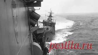 Плата за наглость: как наш сторожевик протаранил корабль ВМС США в Черном море