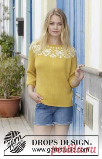 Golden Heart Drops 187 12 Free Knitting Patterns By Drops Design