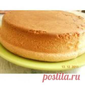 Бисквит и секрет его приготовления Кулинарный рецепт