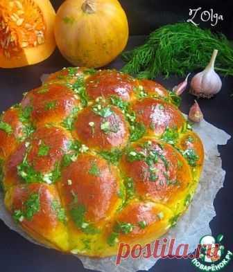 Los panecillos-panecillos de calabazas con el ajo - la receta de cocina