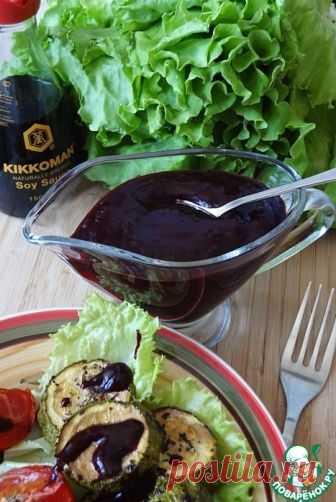 Острый соус из черной смородины - кулинарный рецепт