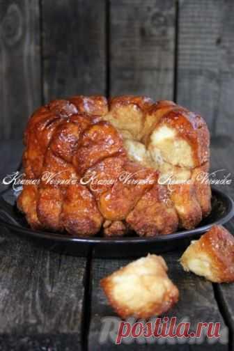 Рецепт обезьяньего хлеба - сладки1 с корицей