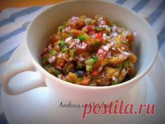Готовим вкуснейший овощной Аджапсандал