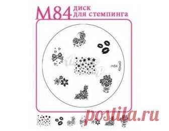 Konad M84 печатная форма/диск для стемпинга купить в Киеве