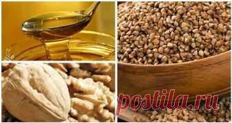 Смешайте по одному стакану гречневой крупы, меда и грецких орехов, и с вашим организмом произойдет нечто особенное Как привести в порядок щитовидку?