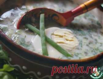 Холодный суп с щавелем – кулинарный рецепт