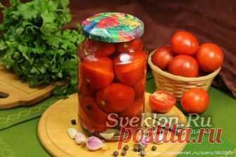Сладкие помидоры с ОЧЕНЬ вкусным рассолом со вкусом томатного сока