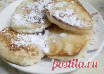 Оладьи на дрожжах Автор рецепта Аделя Белкина - Cookpad