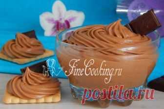 Крем Тафита В этом сладком десертном креме чудесно сочетаются нежность, гладкость и бархатистость, шоколадный вкус и аромат вареной сгущенки.