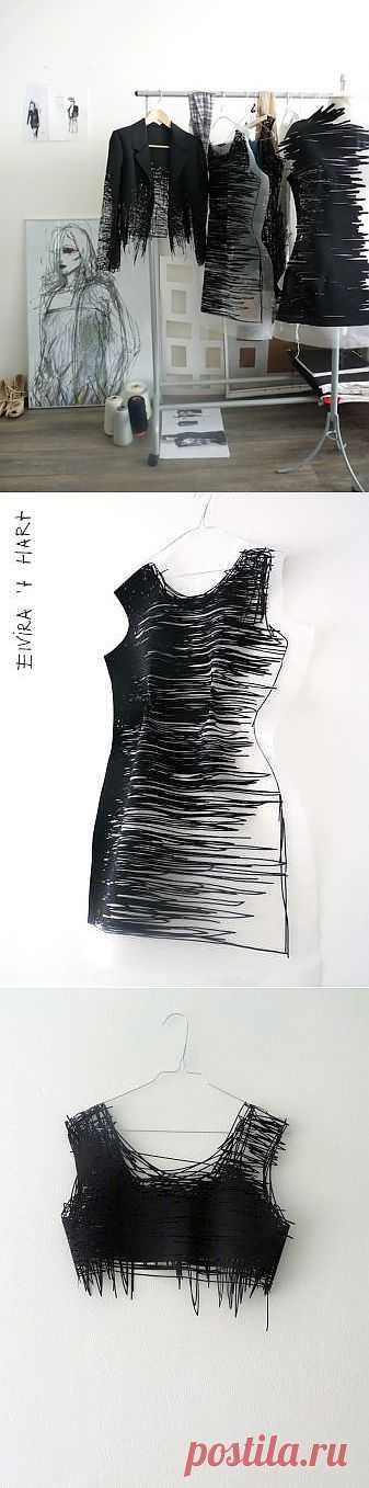 """Elvira 't Hart """"Drawn Clothes and Wearable Drawings"""" / Дизайнеры / Модный сайт о стильной переделке одежды и интерьера"""
