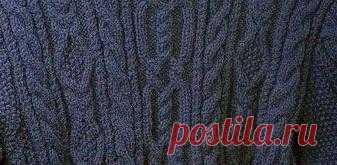 Узор для свитера | Шкатулочка для рукодельниц