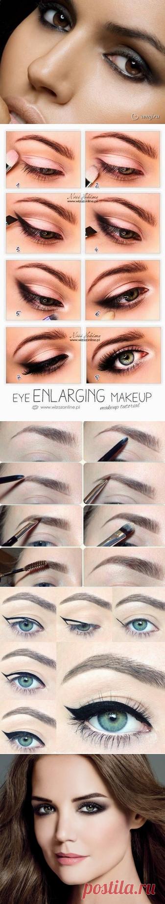 Этот трюк разорвал все шаблоны о макияже глаз! Как я жалею, что раньше им не пользовалась…