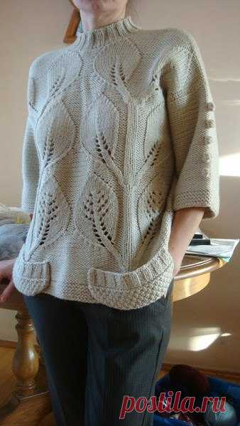 Beautiful pattern for a pullover