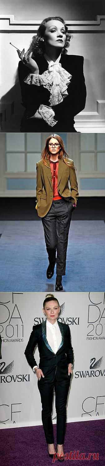 Леди в смокинге (трафик, подборка) / История моды / Модный сайт о стильной переделке одежды и интерьера