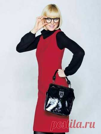 Платье - выкройка № 114 из журнала 9/2008 Burda – выкройки платьев на Burdastyle.ru