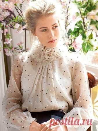 77d98824534 Блузка прямого кроя - выкройка № 104 из журнала 8 2013 Burda – выкройки  блузок