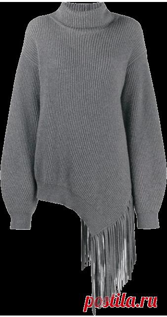 Объемный свитер — универсальная вещь на зиму. Выбираем его вместе с Юлей Катькало