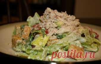 Cалат с крабовым мясом и сухариками / Салаты из морепродуктов / TVCook: пошаговые рецепты c фото