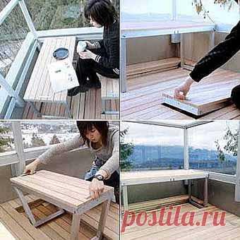 легкое решение для балкона