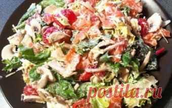 Салат «Портобелло» / Рыбные салаты / TVCook: пошаговые рецепты c фото