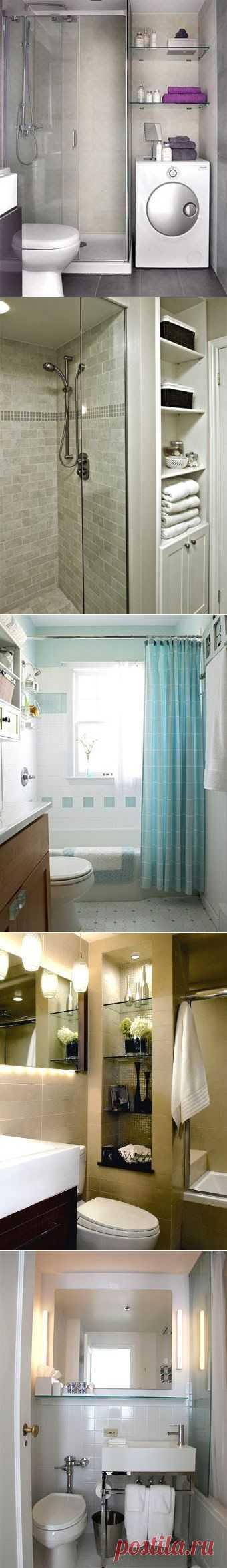 Способы зрительно увеличить ванную комнату | Школа Ремонта