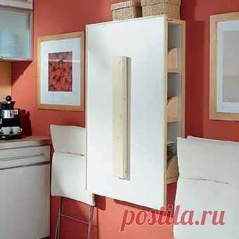 """вот и решение - стол-шкаф для кухоньки в """"хрущевке""""-2"""