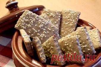 Финская кухня: Ржаное печенье