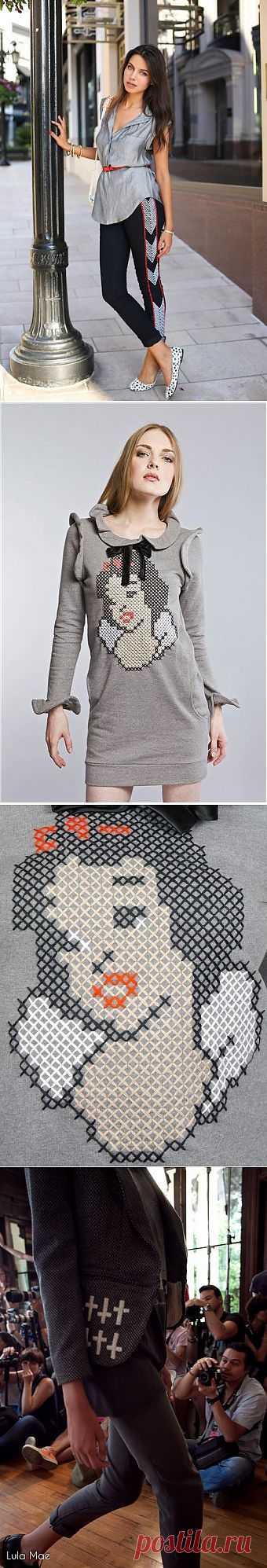 Три степени усердия / Вышивка / Модный сайт о стильной переделке одежды и интерьера