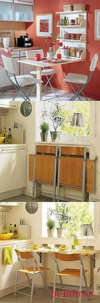 Компактная мебель-трансформер для кухни и спальни своими руками.