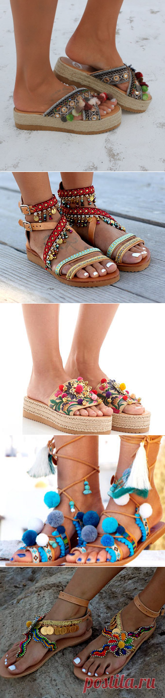 Items similar to Handmade leather sandals, Artisanal sandals, Greek leather sandals, Flatforms,