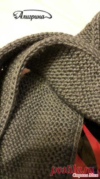 Как сделать кромку шарфа двусторонней, плотной и красивой. / Обсуждение на LiveInternet - Российский Сервис Онлайн-Дневников