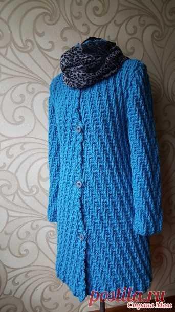 Модное пальто. Схема узора (Вязание крючком) — Журнал Вдохновение Рукодельницы